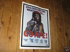 The Planet of the Apes Repro POSTER Go Ape