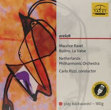 RAVEL BOLERO  TACET  L-207   RIZZI  PLAY BACKWARDS! - PALINDROM 180G