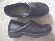 Ladies Black Leather Dansko Shoes size 42 11.5 - 12