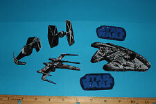 Star Wars Fabric Iron On Appliques