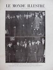 MONDE ILLUSTRE 1920 N 3239  LE TRAITE DE VERSAILLES