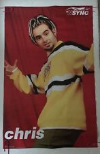 *Nsync Poster Chris Original Vintage Pin-up Retro 1998 Boy Band 1990's Music