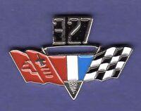 327 GM FLAGS HAT PIN LAPEL PIN TIE TAC ENAMEL BADGE #0523