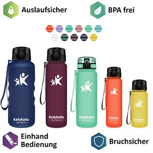 Trinkflasche Wasserflasche Sportflasche Getränkeflasche BPA-frei Tritanflasche