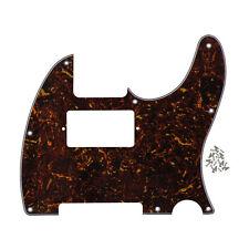 1 pcs Marron écaille De Tortue 4PLY GUITARE HUMBUCKER PICKGUARD pour Fender Tele
