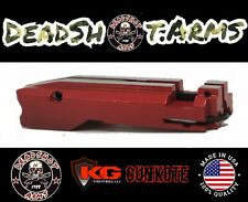 Red Ruger 10/22 Match Grade Bolt Assembly By Deadshot Arms