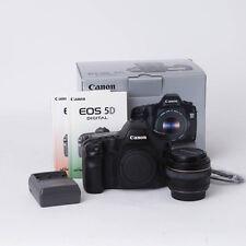 Canon EOS 5D Camera w/ Canon EF 50mm f/1.4 USM Lens, 5D 12.8MP Full Frame DSLR