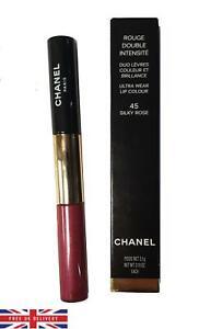 Chanel Rouge Double Intensite Ultra Wear Lip Colour 45 Silky Rose Lipstick