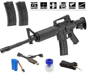 AEG - Arms XMi-139 M4 M16 Sniper RIS Softair / Airsoft 6mm BB Elektrisch < 0,5 J