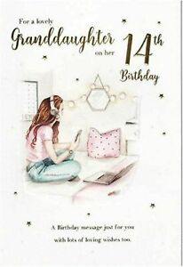 8 Have Fun ~ Cakes /& Presents ~ 8th Birthday greeting card ~ free p/&p
