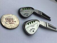 Callaway Mack Daddy Wedge Divot Repair Golf Tool + Custom Hand Stamping