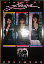 Lace - Shades Of Lace, Polygram promotional poster, 1987, 24x36, Ex, R&B