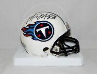 Marcus Mariota Autographed Tennessee Titans Mini Helmet- JSA W Auth