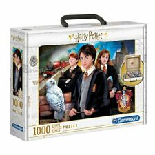 Clementoni Harry Potter 1000 Piece Jigsaw Puzzle Carry Case NEW