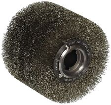 "4"" X 4 3/4"" Stainless Steel Wire Wheel cleaning weld seams deburring fits metabo"