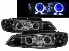 406 1999-2004 FACELIFTED 4D/5D Dual Projector Headlight Black for PEUGEOT LHD