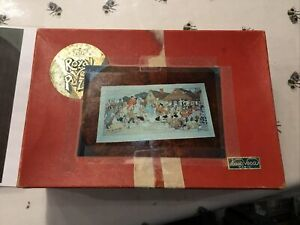 vintage jigsaw puzzle wooden