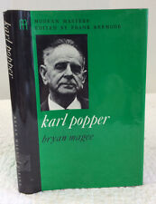 KARL POPPER By Bryan Magee 1973 philosophy