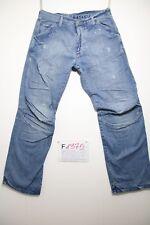 G-star elwood détruire avec vernis boyfriend jeans d'occassion Cod.F1375Tg.46