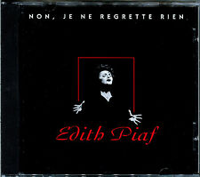 EDITH PIAF - NON, JE NE REGRETTE RIEN - CD ALBUM - BEST OF  [125]