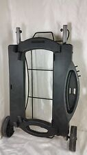 WEBER Q GRILL ROLLING CART PORTABLE BARBECUE STAND MODEL 6549 USED CALC SHIPPING