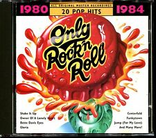 ONLY ROCK'N'ROLL 20 POP HITS 1980 / 1984 - CD COMPILATION [2340]