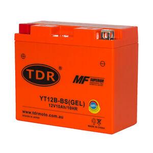 GEL YT12B-4 GT12B-4 Motorcycle Battery replace MBT12B4 Yussa YTZ12B-4 YT12B-BS