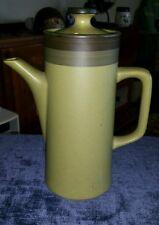 Kasuga ARROWSTONE Arrow Stone APACHE GOLD Japan Green & Brown Coffee Pot Pitcher