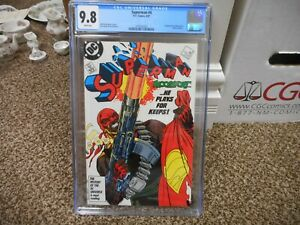Superman 4 cgc 9.8 DC 1987 1st appearance of Bloodsport Suicide Squad movie MINT