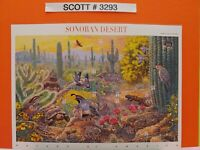 Scott # 3293 - Sonoran Desert Miniature Sheet - Sheet of (10) 33 Cent Stamps