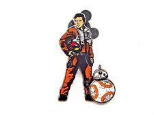 Disney Pin Star Wars: The Last Jedi - Poe Dameron and BB-8 [124077]