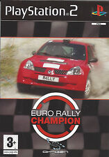 EURO RALLY CHAMPION for Playstation 2 PS2 with box & manual - PAL