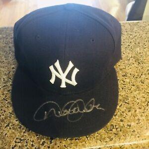 Derek Jeter Signed Autograph Baseball Hat, Cap, MLB COA