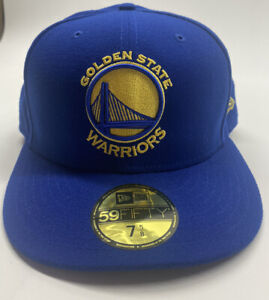 Golden State Warriors New Era 59Fifty Fitted Size 7 5/8 Hat -Cap New