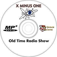 X Minus One - OTR MP3 CD - Old Time Radio Show - 55 Episodes
