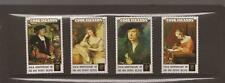 COOK ISLANDS 1990 ANNIVERSARY OF PENNY BLACK MNH SET OF  STAMPS