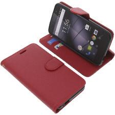 Tasche für Gigaset GS160 / GS170 Book-Style Schutz Hülle Handytasche Buch Rot