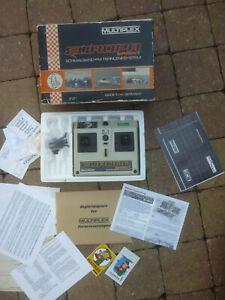 Vintage Multiplex Europa Sprint Nautic 40 Mhz + Anleitung + OVP / Fernsteuerung