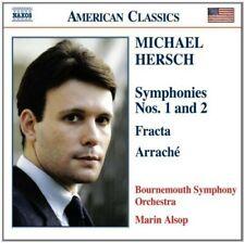 New ListingSymphonies 1 & 2, Hersch, M. - (Compact Disc)