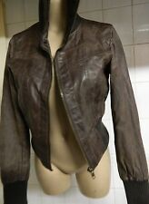 NEW LOOK WOMEN real leather jacket size UK 12 EUR 40