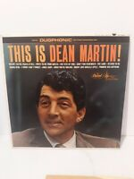 THIS IS DEAN MARTIN! VINYL RECORD LP CAPITOL DUOPHONIC DT1047 RARE COPY VG+