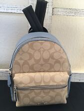 **NEW COACH CLASSIC** MINI CHARLIE Signature Backpack F58315