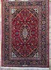 Oriental Carpet Rug Handmade Wool And Cotton 166x115