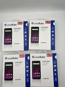 """US CELLULAR ALCATEL 1 B 5.5"""" HD+ Display 16GB Prepaid BRAND NEW SEALED LOT OF 4"""