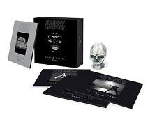 Coffret collector Johnny Hallyday Rester vivant + réplique crâne neuf + cadeau !
