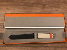 Apple Watch Series 4 Hermes Hermès 44mm Indigo Craie Orange BAND ONLY