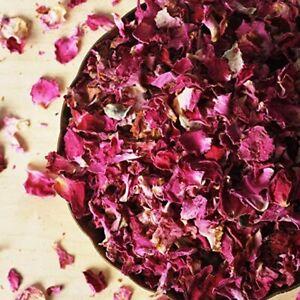 100 % Organic Rose Petals - Dried Gulab (50 Gm) - Free Shipping Worldwide