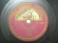 """DANNY MALONE SINGING A DUET WITH HIMSELF B 4453 INDIA INDIAN RARE 78 RPM 10"""" VG"""