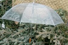 "48"" Clear Auto-Open Rain Umbrella Nwt Barton Outdoors"