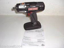 "NEW Craftsman C3 Heavy- Duty 19.2V Cordless 1/2"" Reversible Impact Wrench ID2030"